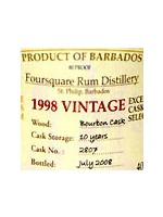 Foursquare 1998-2008 Vintage 10years
