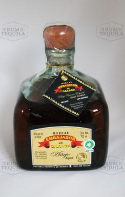 Embajador Quadro Bottle Glass American Oak 7YO
