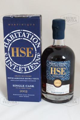 HSE Saint Etienne Single Cask 2003