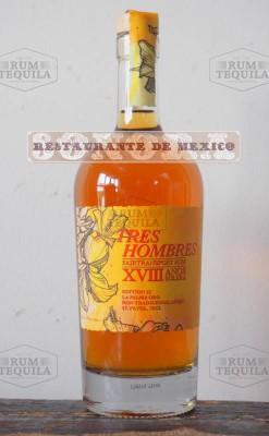 Tres Hombres Rum La Palma Oro 18YO